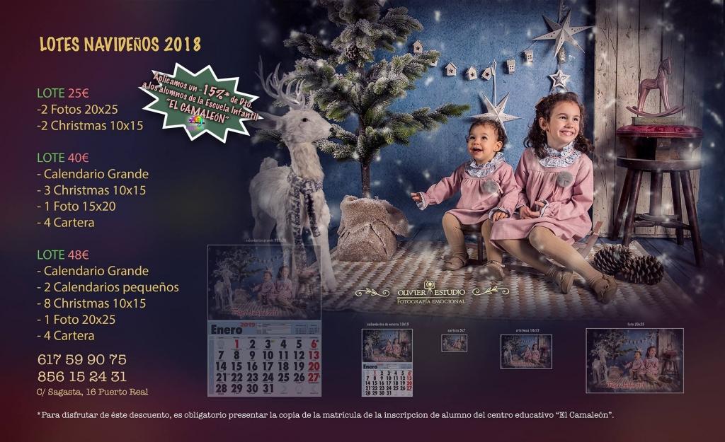 Tarifas navidad 2018 Olivier Fotografia