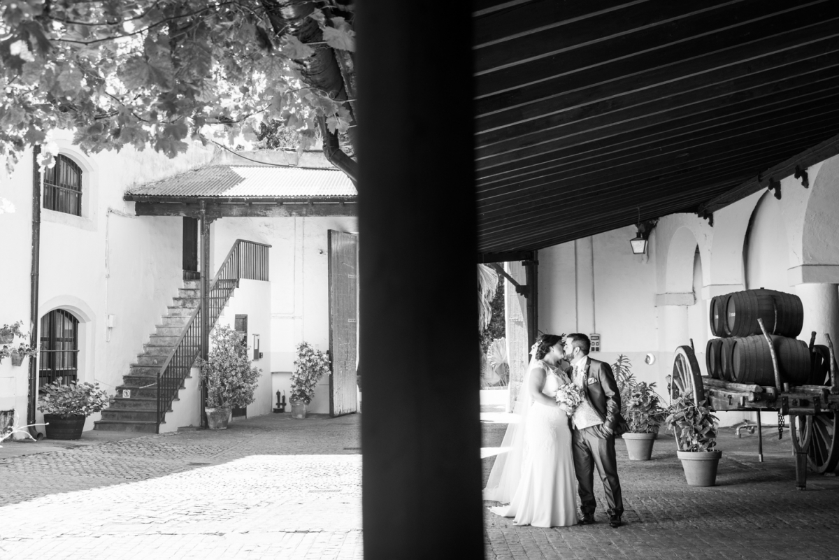bodas en blanco y negro en cadiz