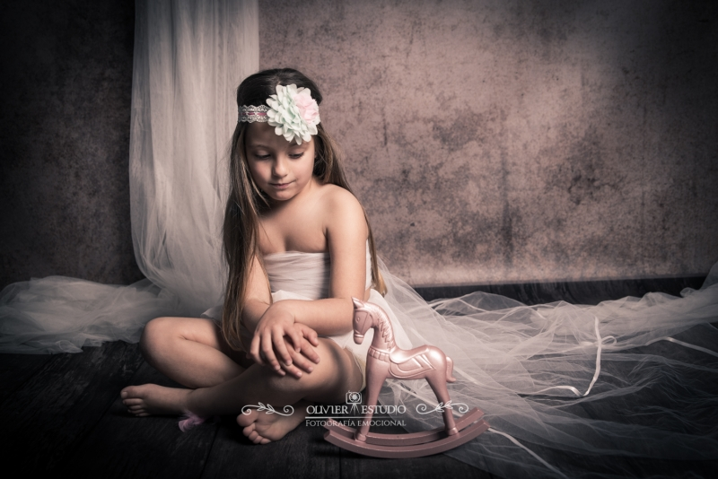 niña foto estudio Puerto Real