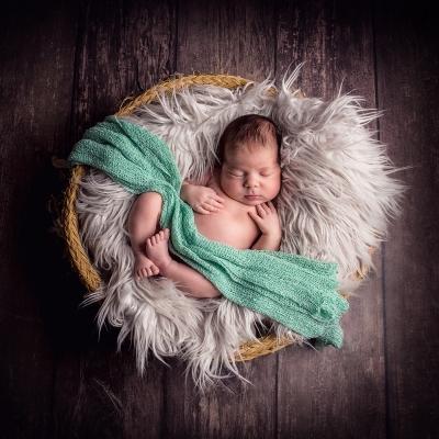 newborn foto baby